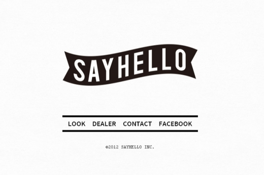 SAYHELLO Web Site UPDATE!!.jpg