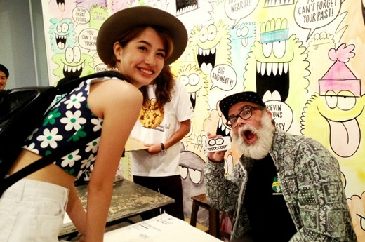 STUSSY GUEST ARTIST SERIES_KEVIN LYONS EXHIBITION_Yui.JPG